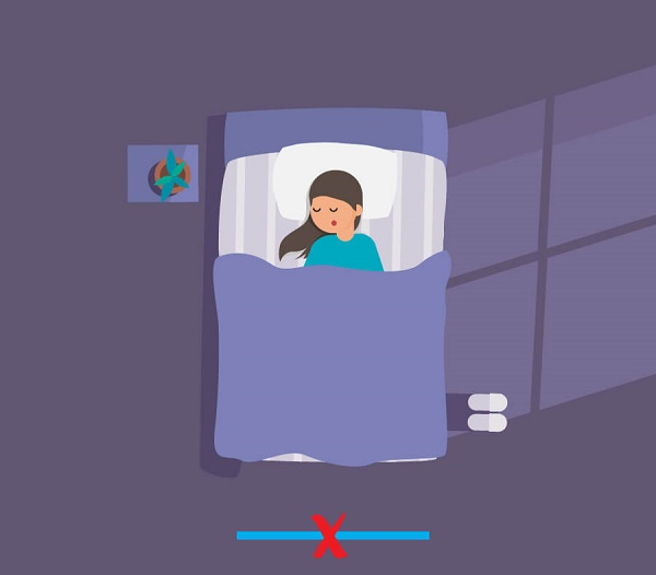 Có nên đặt gương trong phòng ngủ không? Đặt gương đối diện giường ngủ có hại gì?