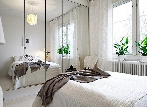 Nên đặt gương trong phòng ngủ thế nào? Đặt gương trong phòng ngủ hợp phong thủy