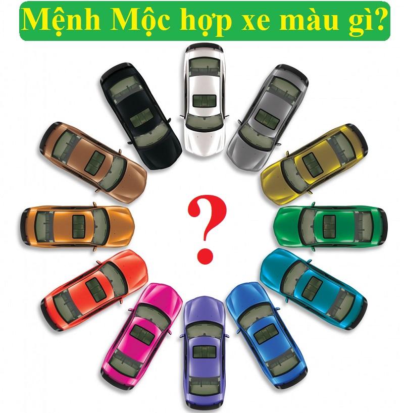 Mệnh Mộc hợp xe màu gì, nên mua xe màu gì?