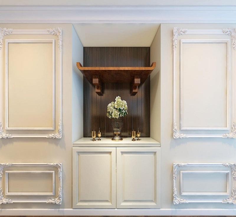 Đặt bàn thờ ở nhà chung cư nên nhớ điều gì quan trọng, hữu ích.