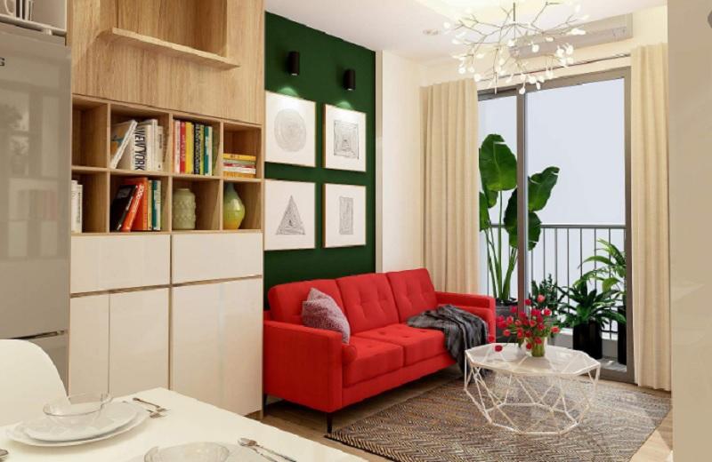 Phong thủy phòng khách cho người mệnh Hỏa. Phòng khách người mệnh Hỏa có nên dùng sofa không?