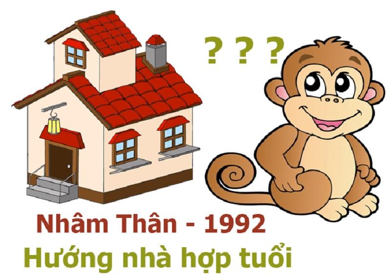 Tuổi 1992 hợp hướng nào làm nhà an cư. Tuổi Nhâm Thân nên xây nhà hướng nào hợp phong thủy