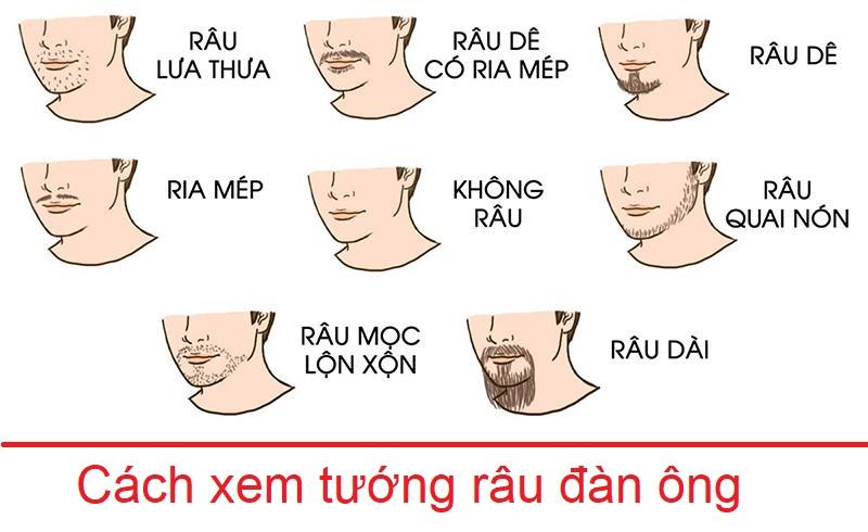 Xem tướng râu đàn ông như thế nào?