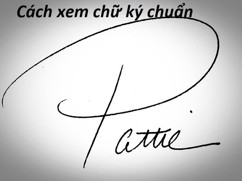 Xem chữ ký tốt, hợp phong thủy - Nhìn chữ ký đoán vận mệnh. Chữ ký nào là đẹp, hợp phong thủy? Đoán tính cách qua chữ ký.