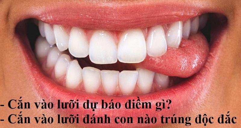 Cắn vào lưỡi là điềm gì?