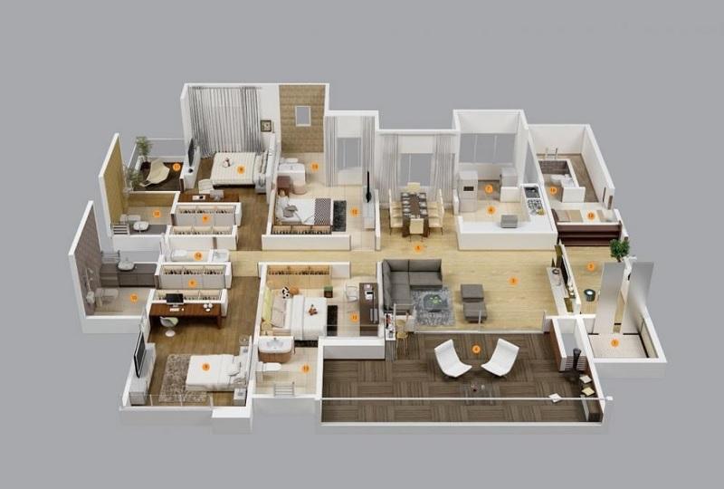 Chọn nhà chung cư theo phong thủy. Phong thủy nhà chung cư