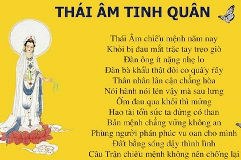 Sao Thái Âm tốt hay xấu? Cúng sao Thái Âm