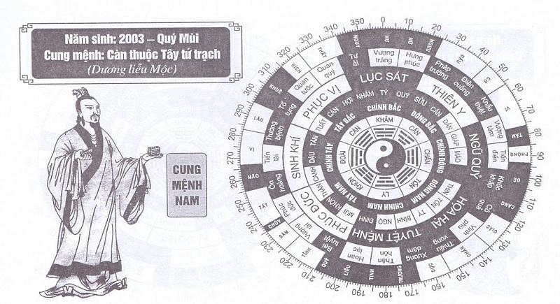 2003 tuổi gì? Tuổi Quý Mùi năm 2003 nam mạng hợp hướng nào?