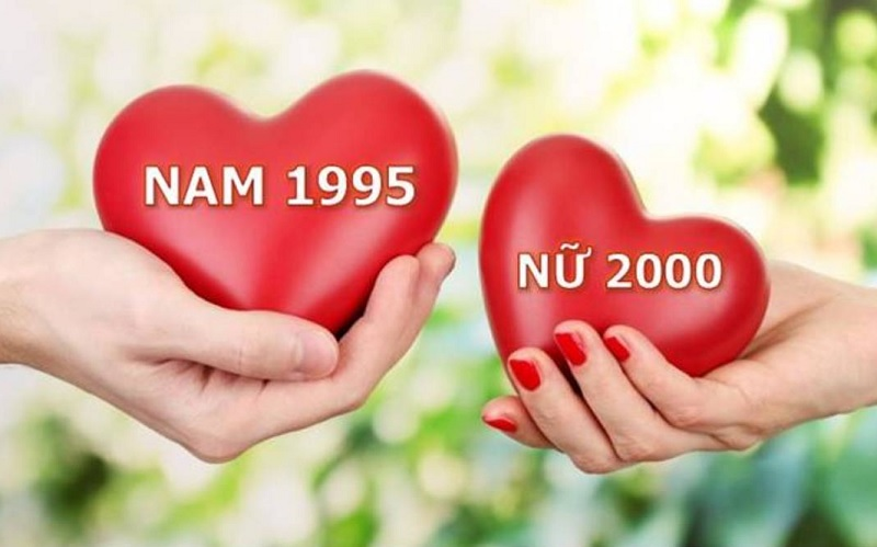 Nam 1995 và nữ 2000 có hợp nhau không? Nam 1995 và nữ 2000