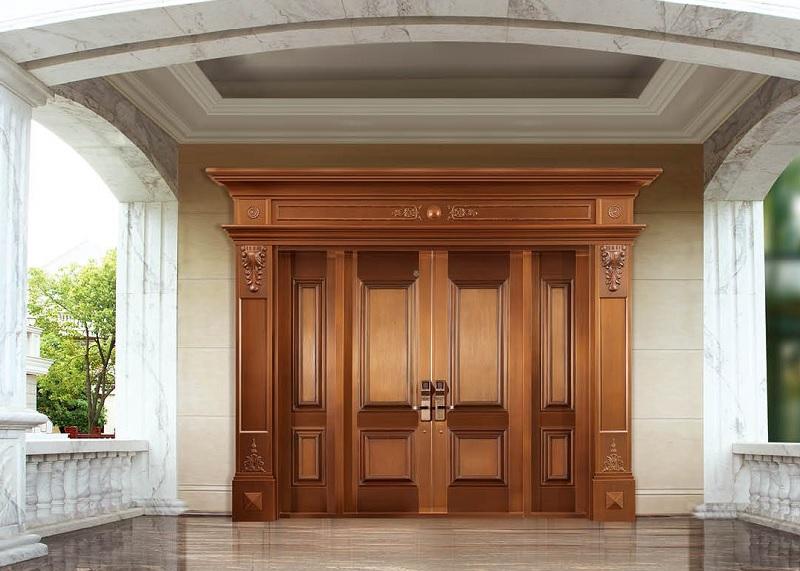 Phong thủy cửa chính. Kích thước cửa chính 4 cánh hợp phong thủy