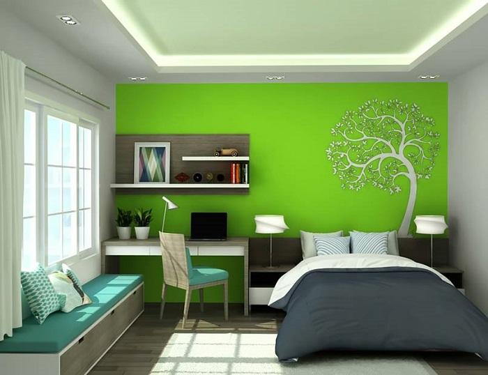 Phòng ngủ theo phong thủy cho người mệnh Mộc