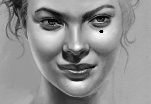 Ý nghĩa nốt ruồi lệ, nốt ruồi lệ ở mắt phải, nốt ruồi lệ ở mắt trái
