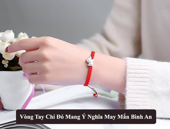 Ý nghĩa vòng tay chỉ đỏ, kiêng ky khi đeo vòng tay chỉ đỏ