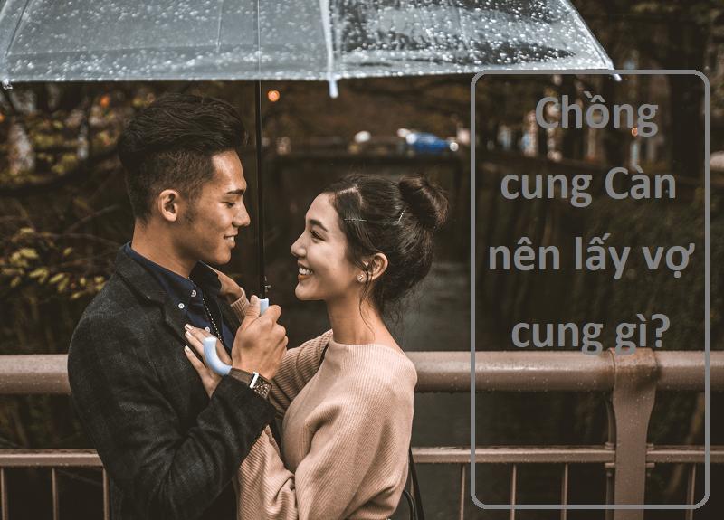 Chồng cung Càn lấy vợ cung gì tốt?
