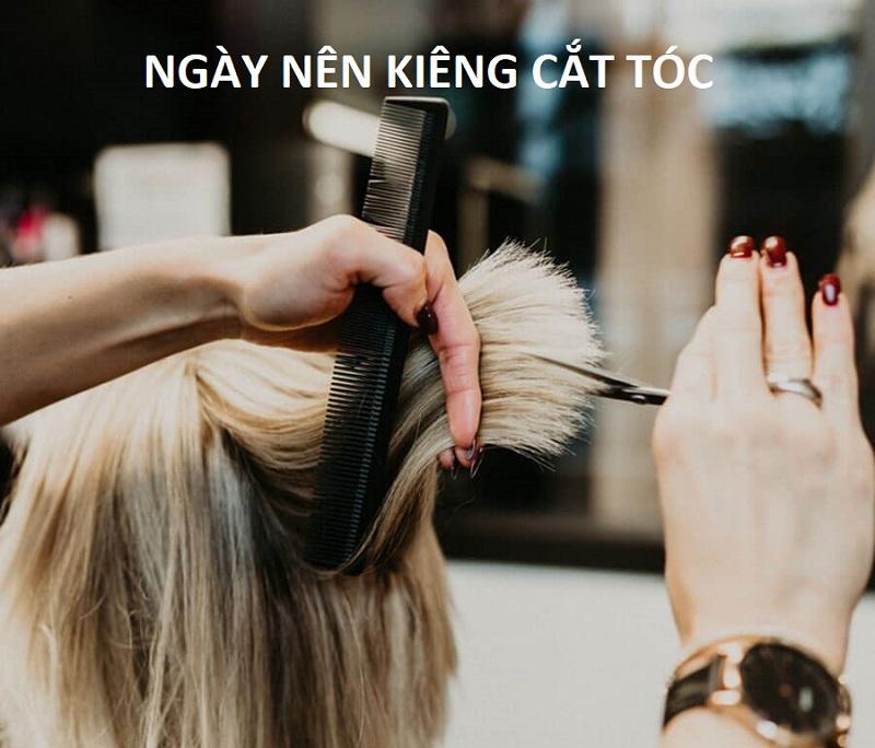 Các thời điểm không nên cắt tóc
