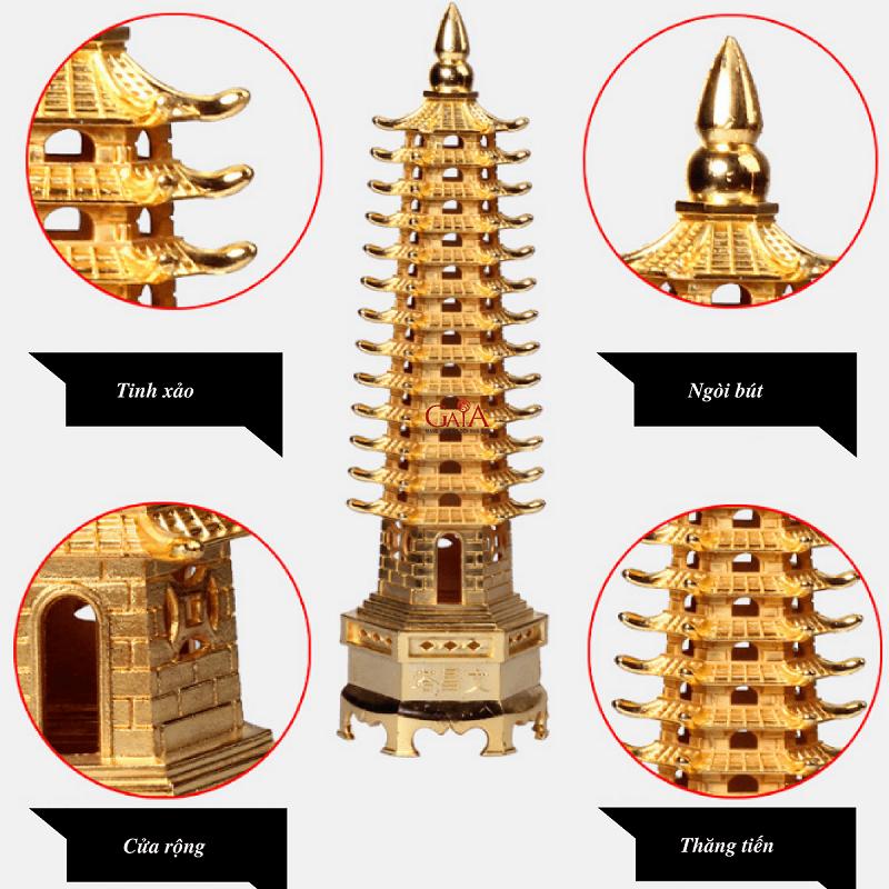 Tháp Văn Xương hợp tuổi gì? Hướng đặt tháp Văn Xương theo phong thủy tuổi gia chủ