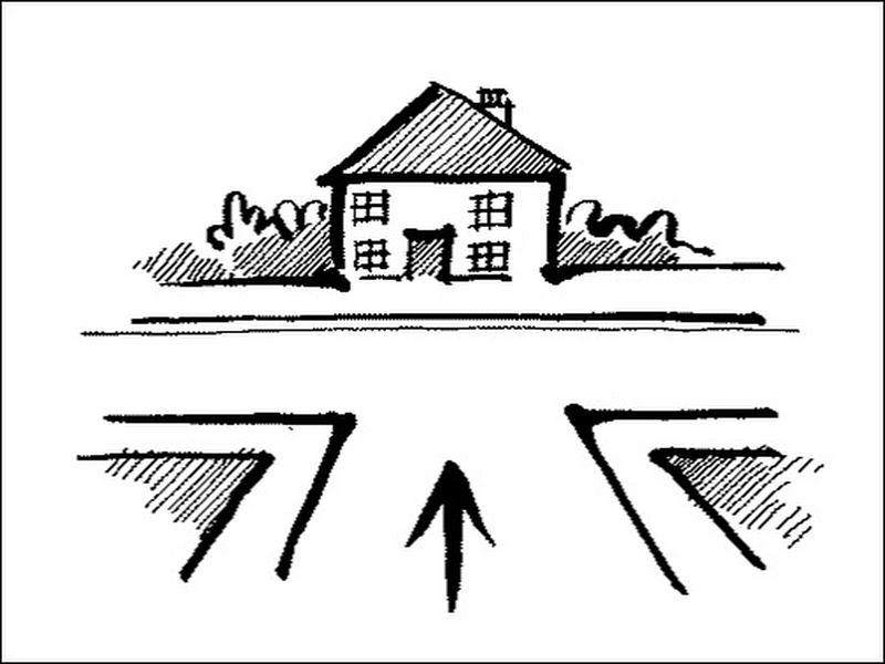 có nên mua nhà có đường hẻm đâm nhà không?