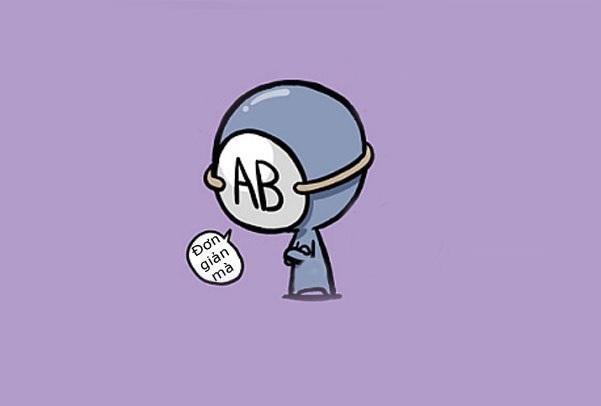Tính cách người nhóm máu AB