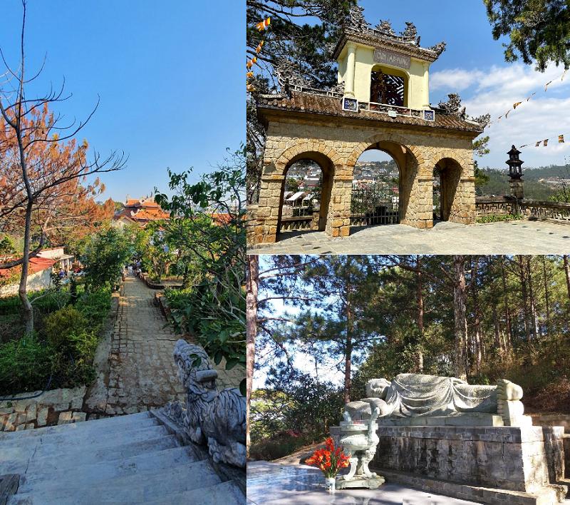 Những ngôi chùa đẹp ở Đà Lạt. Chùa Linh Phong