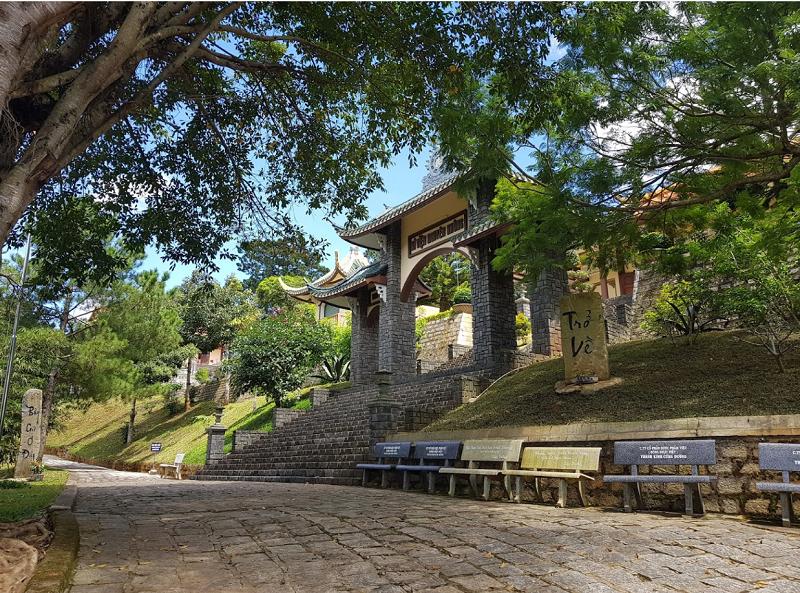 Những ngôi chùa linh thiêng ở Đà Lạt. Chùa Nguyên Không