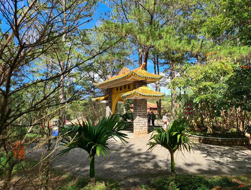 Những ngôi chùa lớn nhất ở Đà Lạt. Thiền Viện Trúc Lâm